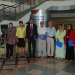 คณะอาจารย์และผู้บริหารจาก Asian Institute of Technology (AIT)