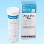 แผ่นกระดาษทดสอบแอมโมเนียในน้ำ (0- 6 ppm.)