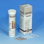 กระดาษทดสอบคลอไรด์ในน้ำ (0 – ≥3000 ppm)