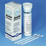 กระดาษทดสอบความกระด้างของน้ำ (0 -20 ppm.)