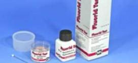 กระดาษทดสอบฟลูออไรด์ (0 -100 ppm.)