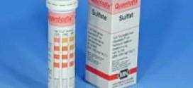 กระดาษทดสอบซัลเฟตในน้ำ (200 -1600 ppm.)