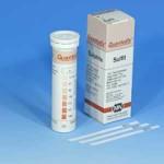 กระดาษทดสอบซัลไฟต์ในน้ำ (0 -1000 ppm.)