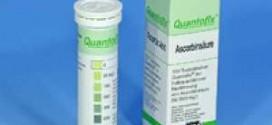 กระดาษทดสอบวิตามินซีในอาหาร (Ascorbic acid 0-2000 ppm.)