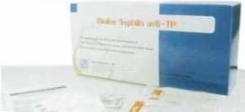 ชุดตรวจซิฟิลิส Syphilis anti-TP (แบบตลับ)