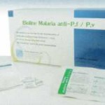 ชุดตรวจมาลาเรีย Malaria P.f/P.v Ab (แบบตลับ)