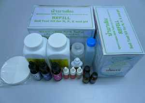 ชุดตรวจสอบค่า NPK (Refill)