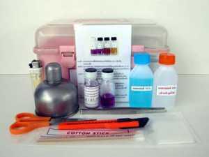 ชุดตรวจสอบเชื้อโคลิฟอร์มแบคทีเรีย, ภาชนะสัมผัสอาหารและมือ(SI-Medium,Si-2)