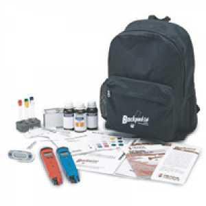 ชุดทดสอบสื่อการสอนด้านคุณภาพดิน (Backpack Lab Soil Quality Educational Test Kit)