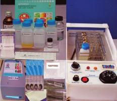 ชุดตรวจสอบสารพิษตกค้างในผักผลไม้ TM KIT พร้อมอุปกรณ์
