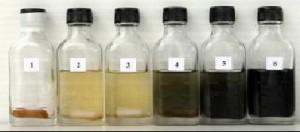 การเปลี่ยนสีของชุดตรวจสอบซัลโมเนลล่า