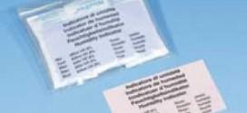 กระดาษทดสอบความชื้น (Moisture indicators)