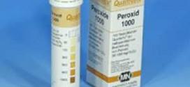 กระดาษทดสอบเปอร์ออกไซด์ (0 – 1000 ppm.)