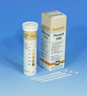กระดาษทดสอบเปอร์ออกไซด์ (0 - 1000 ppm.)