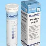 กระดาษทดสอบเปอร์อะซิติก แอซิด (0 -50 ppm.)
