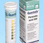 กระดาษทดสอบเปอร์อะซิติก แอซิด (0 -500 ppm.)