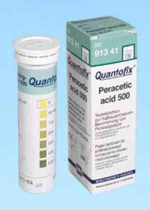 ชุดทดสอบเปอร์อะซิติก แอซิด (0 -500 ppm.)