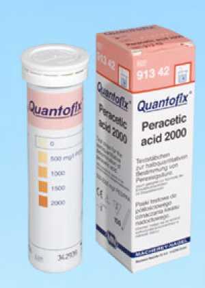 ชุดทดสอบเปอร์อะซิติก แอซิด (0 -2000 ppm.)