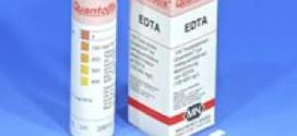 กระดาษทดสอบ EDTA (0 – 400 ppm.)