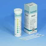 กระดาษทดสอบ Quat (0 – 1000 ppm.)