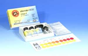 ชุดทดสอบคลอรีนอิสระและคลอรีนทั้งหมดในน้ำ (0.1- 2.0 ppm.)