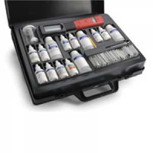 ชุดทดสอบน้ำในหม้อน้ำอุตสาหกรรม (อัลคาลินิตี้,คลอไรด์,ความกระด้าง,pH,ฟอสเฟต,ซัลไฟต์)