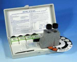 ชุดทดสอบแมงกานีส (0.0 - 0.5 ppm.)