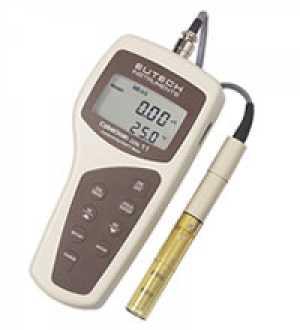 เครื่องมือวัดค่าการนำไฟฟ้า, ปริมาณสารที่ละลายทั้งหมด, อุณหภูมิ แบบมือถือ (Cyber Scan CON 11)