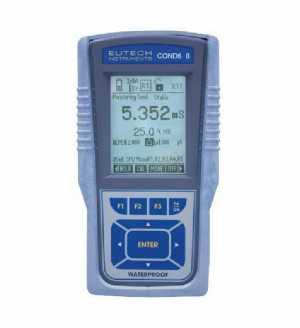 เครื่องมือวัดค่าการนำไฟฟ้า, ปริมาณสารที่ละลายทั้งหมด, อุณหภูมิ แบบมือถือ (Cyber Scan COND 600)