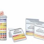 แผ่นกระดาษทดสอบค่าความเป็นกรด-ด่างของน้ำ (pH 1-14)