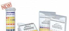 แผ่นกระดาษทดสอบค่าความเป็นกรด-ด่างของน้ำ (pH 0-14)