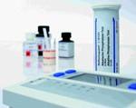 ชุดทดสอบน้ำยาฆ่าเชื้อ Peracetic Acid Reflectometer Test Strip  (75-400 mg/l)