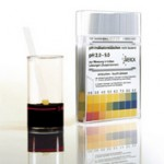แผ่นวัด pH ( pH-indicator strips pH 2.0 – 9.0 )