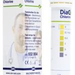 กระดาษทดสอบคลอรีน (DiaQuant® Chlorine CE* test strip)