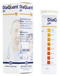 กระดาษทดสอบ pH (DiaQuant® pH CE* test strip)