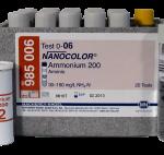 ชุดทดสอบแอมโมเนียม Tube Test (30 – 160 mg/L NH4-N and 40 – 200 mg/L NH4+)
